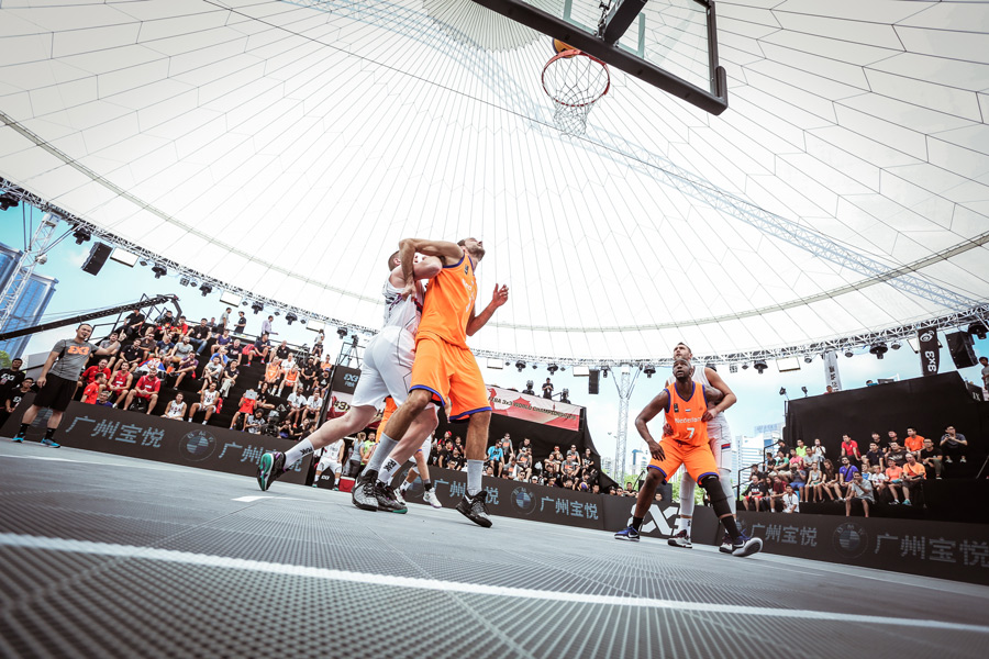 3x3 basketball urban sport - Janssen-Fritsen Schelde Sports